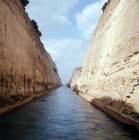 Corinth Greece The Corinth Canal