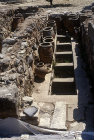 Greece, Crete, Knossos, Palace of Minos 2800-1100 BC, magazine or store room