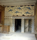 Greece, Crete, Knossos, Palace of Minos, the Queen