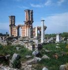 Sixth century Byzantine basilica, Philippi, Greece