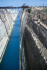 Corinth Greece the Corinth Canal