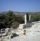 Greece, Crete, Knossos Horns of Consecration