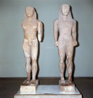Greece Delphi Athletes Cleobis and  Biton 6th century BC