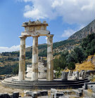 Tholos of Sanctuary of Athene Pronoia, fourth century BC, Delphi, Greece