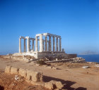 Temple of Poseidon, fifth century BC, Sounion, Greece