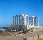 Temple of Poseidon, fifth century BC, Sounion, Greece