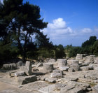 Olympia Greece the Temple of Zeus built in the 5th century BC