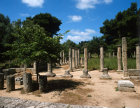 Olympia Greece the Palaestra a general view fom the north end approximately 2nd century AD