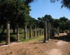 Olympia Greece the Palaestra from the south west corner dating from 200BC