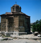 Greece Athens Church of the Holy Apostles dating frpm the early 11th century  situated in the Athenian Agora