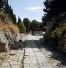 Greece, Crete, Knossos, Palace of Minos, Minoan road