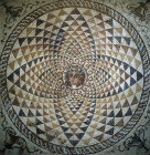Mosaic from Roman villa of Dionysus, second century AD, Corinth, Greece