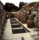 Greece, Crete, Knossos, Palace of Minos, storage jars