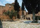 Monastery exterior, eleventh century, Daphni, Greece