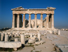 Athens Greece east end of the Parthenon 5th century BC