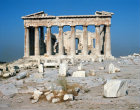 Athens Greece Acropolis east front of the Parthenon 5th century BC