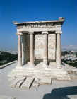 Athens Greece Acropolis the Temple of Athena Nike 5th century BC