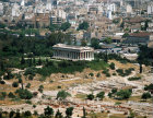 Greece Athens The Temple of Hephaestos 5th century  BC and the Athenian Agora