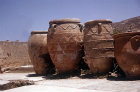 Greece, Crete, Knossos,  storage jars