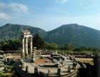 Tholos of sanctuary of Athene Pronoia, fourth century BC, Delphi, Greece