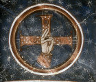Hand of God, eleventh century, Monastery of Hosios Loukas, Distomo, Greece