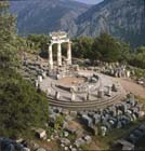 Tholos of Temple of Sanctuary of Athene Pronaia, 4th century BC, Delphi, Greece