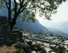 Temple of Apollo, fourth century BC, Delphi, Greece