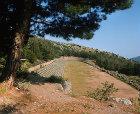 Stadium, fifth century BC, Delphi, Greece