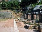 Stadium starting grid, fifth century BC, Delphi, Greece