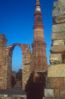 Quwwat al-Islam mosque and Qutb Minar, Delhi, India