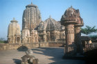 Siddhesvara Shiva Temple, fifteenth century, Bhubaneswar, Odisha, India
