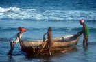 Fishing boat, Konarak, Odisha, India