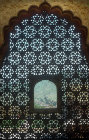 Glassless window, Amber Fort, begun 967, Amer, Jaipur, Rajestan, India