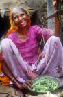 Vegetable seller, India