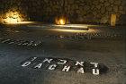 Israel, Jerusalem, Yad Vashem, Eternal flame in the hall of remembrance