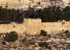 Israel, Jerusalem, the Golden Gate at dawn