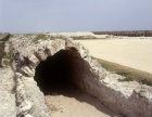 Israel, Caesarea, covered portion of low aqueduct
