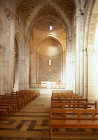 Israel, Jerusalem, interior of St Annes Church in the  Old City