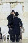 Israel, Jerusalem, Orthodox Jews at the Western Wall