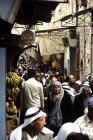Israel, Jerusalem, a crowed street in the old city