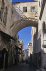 Israel, Jerusalem, the Ecce Homo arch on the Via Dolorosa