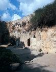 Israel, Jerusalem, the exterior of the Garden Tomb