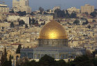 Israel, Jerusalem, the Dome of the Rock at dawn
