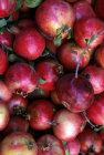 Israel Jerusalem pomegranates a traditional fruit of the Sukkot Festival on sale in Mea Shearim quarter