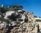 Israel, Jerusalem, the Skull Rock from the Garden Tomb
