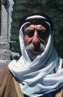 Israel, Bethlehem, portrait of an Arab man aged 83