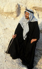 Israel, young Arab dressed in traditional clothes, south west of Jerusalem
