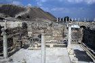 Israel, Beth Shean, Byzantine period public lavatory