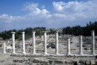 Israel, Beth Shean, columns on Palladus Street