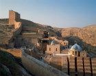 Mar Saba Greek Orthodox monastery, founded by Sabas in fifth century, south east of Jerusalem, Israel